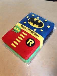 Remarkable Batman Robin Cakes Bing Images Batman Birthday Boy Birthday Personalised Birthday Cards Vishlily Jamesorg
