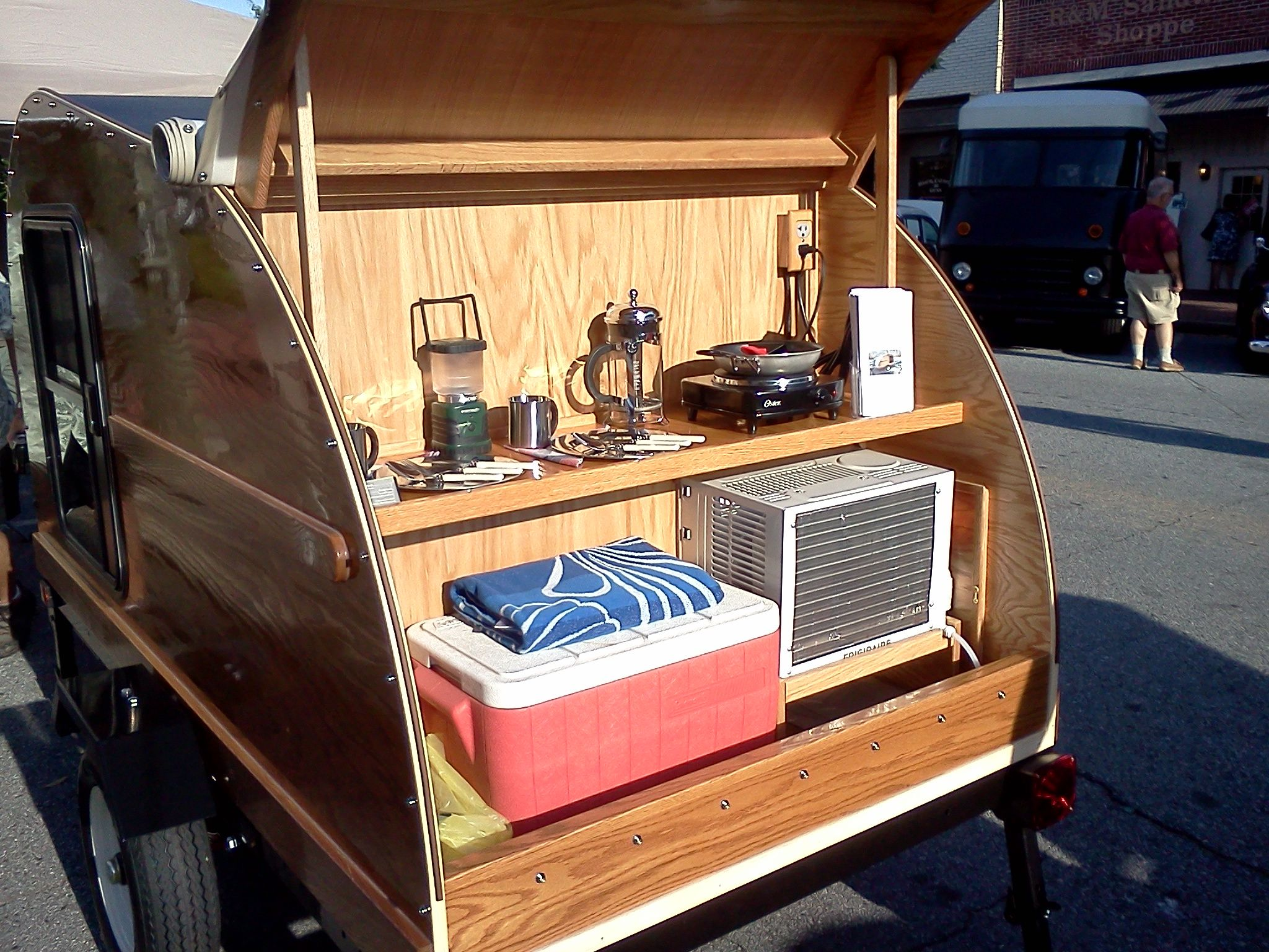 Love to camp, but can't live without air conditioning? We