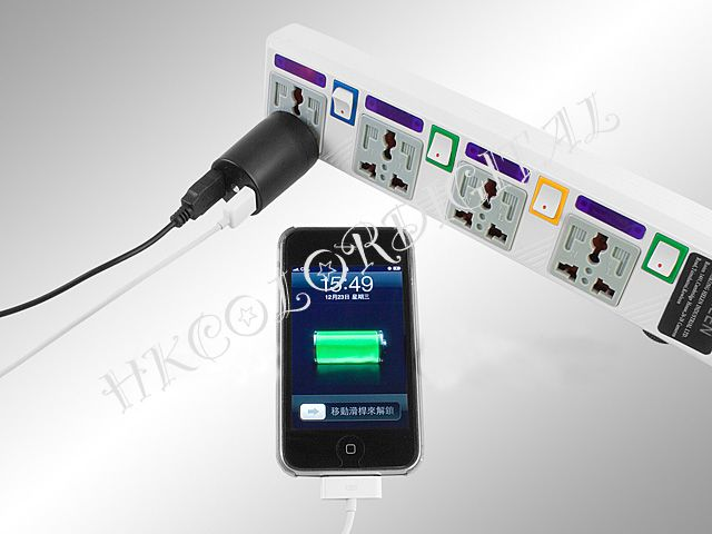 Dual USB Port Mini Travel Adapter can be charge dual USB port at the same time. You can charge a lot of electric devices (iPhone 3Gs, 3G, 2G, PSP, NDS or cellphone etc). Price: $7.00