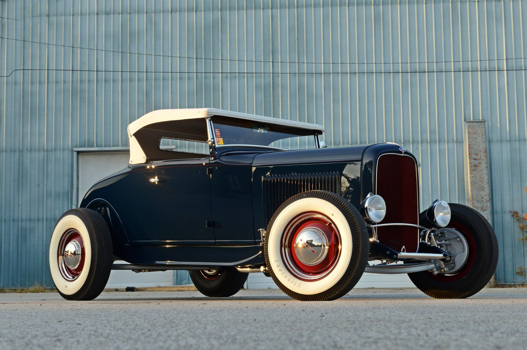 Traditional Highboy 1931 Ford Model A Roadster was 45 Years in the ...