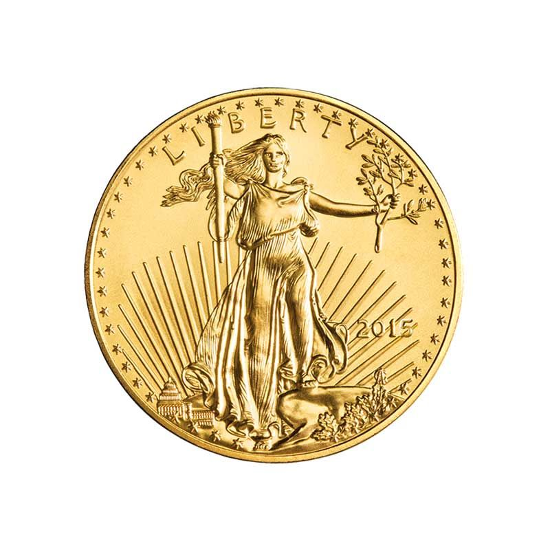 1 10 Oz Gold American Eagle 5 Gold Eagles U S Money Reserve In 2020 American Eagle Gold Coin Silver Bullion Gold Bullion