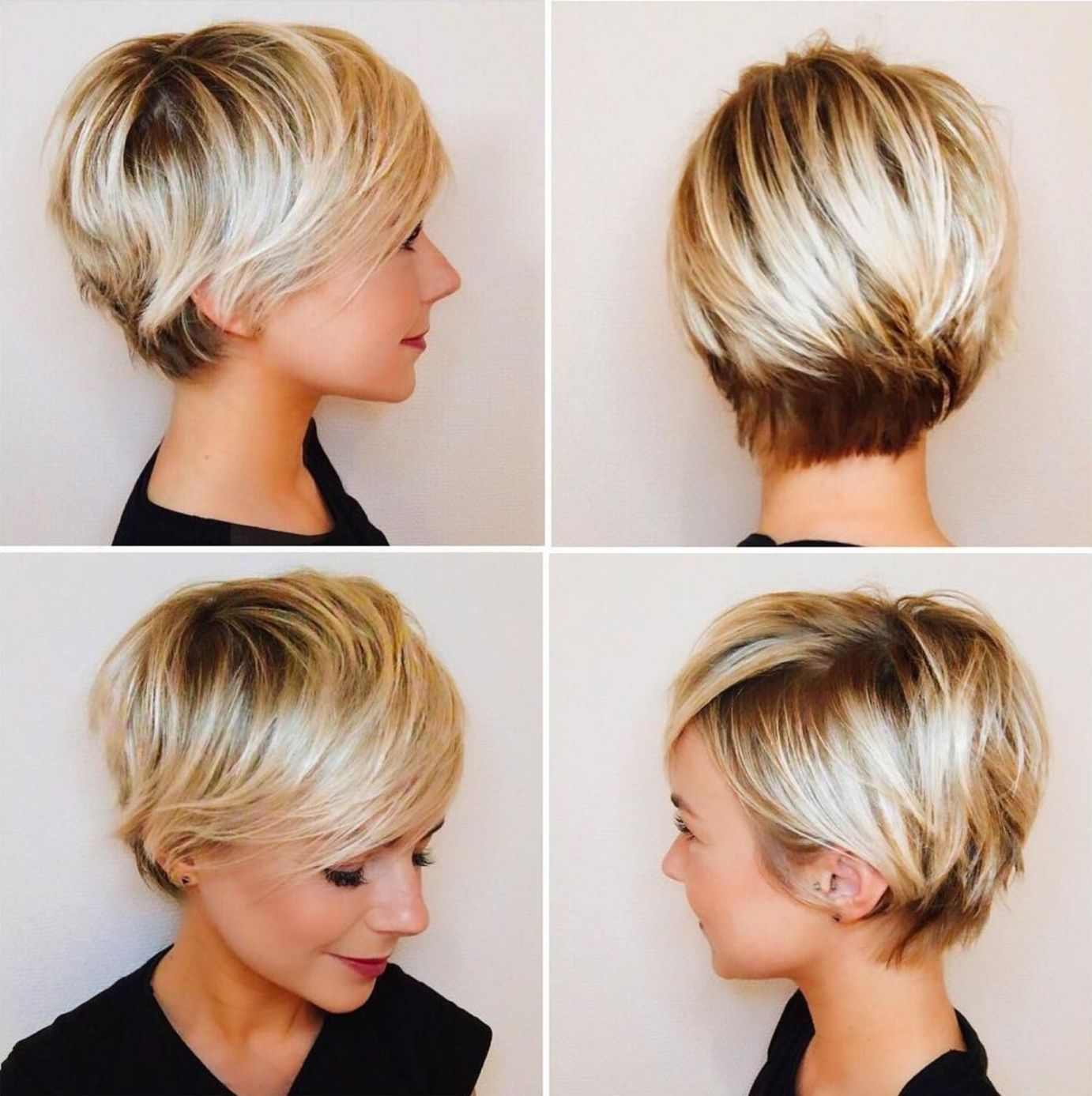 35 Stunning And Sassy Short Hairstyles For Fine Hair That Are Too Cute For  Words in 2020   Cute hairstyles for short hair, Short hair with bangs, Short  hair styles