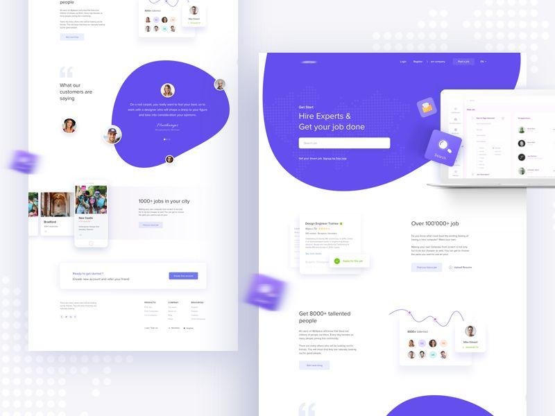 Hire Experts Get Your Job Done V3 Portfolio Web Design Web App Design Web Design Tips