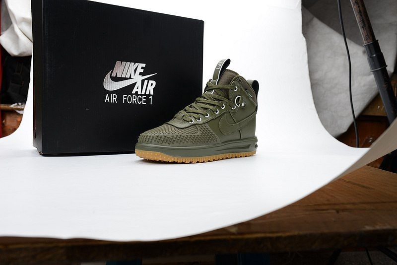 best service 8ea7a ded47 ... nike lunar force 1 men duck boot army green shoes