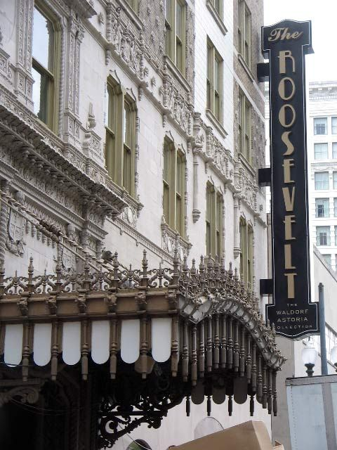 Beautiful And Historic Roosevelt Hotel. Perfect Just To