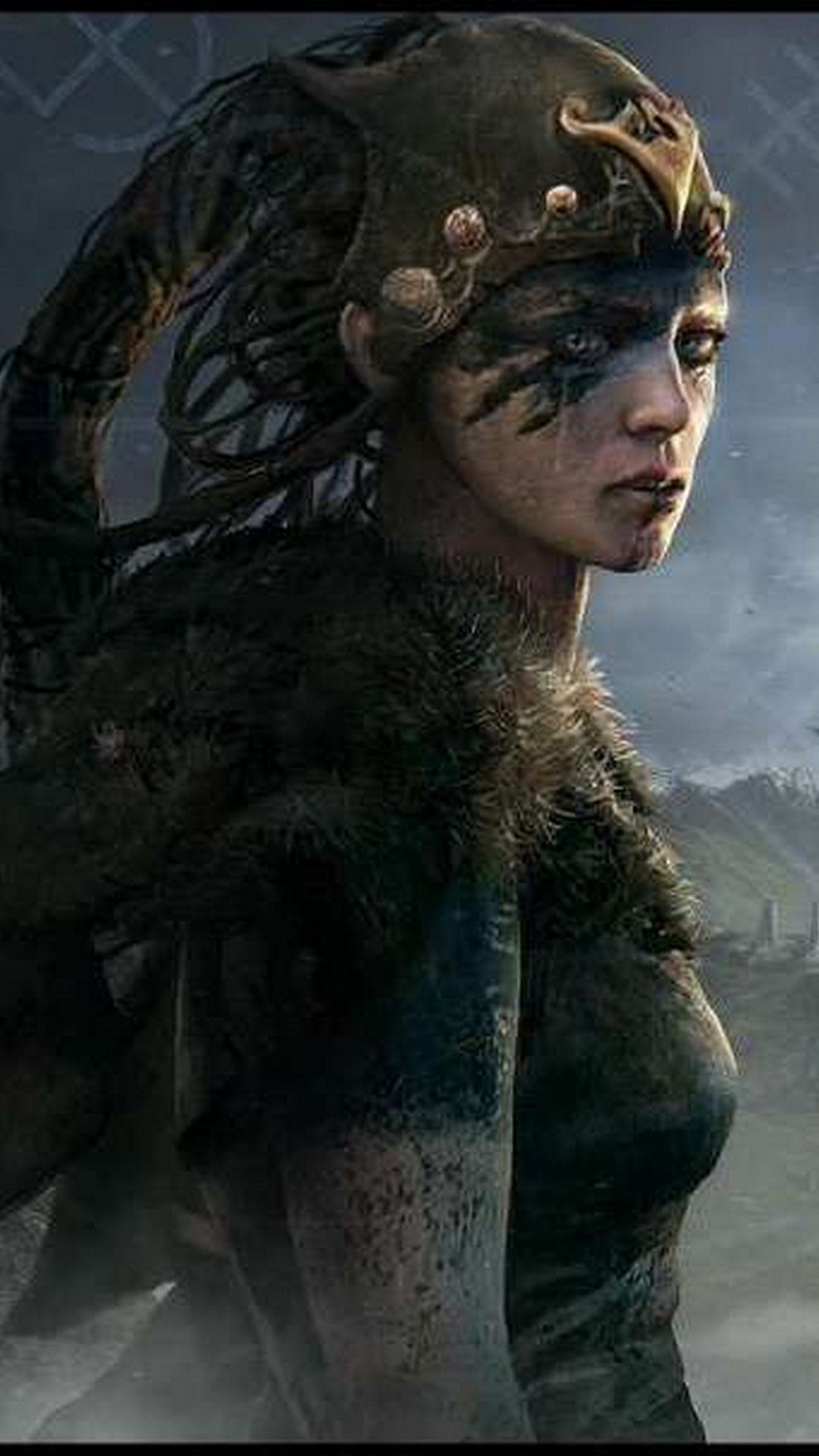 Hellblade senua 39 s sacrifice wallpaper for iphone x iphone wallpaper best iphone wallpapers - Sacrifice wallpaper ...