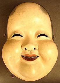 19th Century Japanese Okame, Goddess of Mirth Mask                                                                                                                                                                                 More