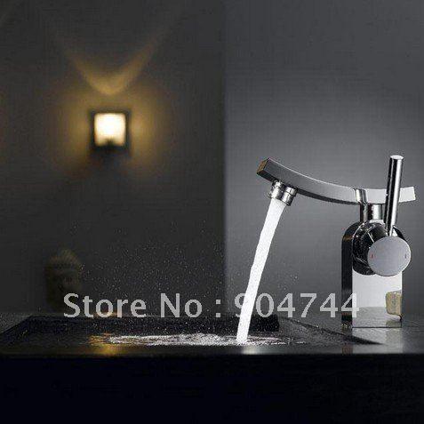 Aliexpress.com : Buy Freeshipping Crown chrome brass single lever ...