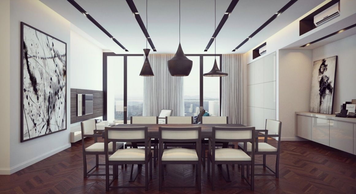 Formal Dining Room Decor The Quiet Simplicity Of This Eating Area Stunning Modern Chic Dining Room Inspiration