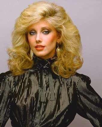 Morgan Fairchild 80s Blonde Barbie Morgan Fairchild Vintage