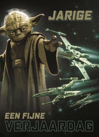 Star Wars Verjaardagskaart