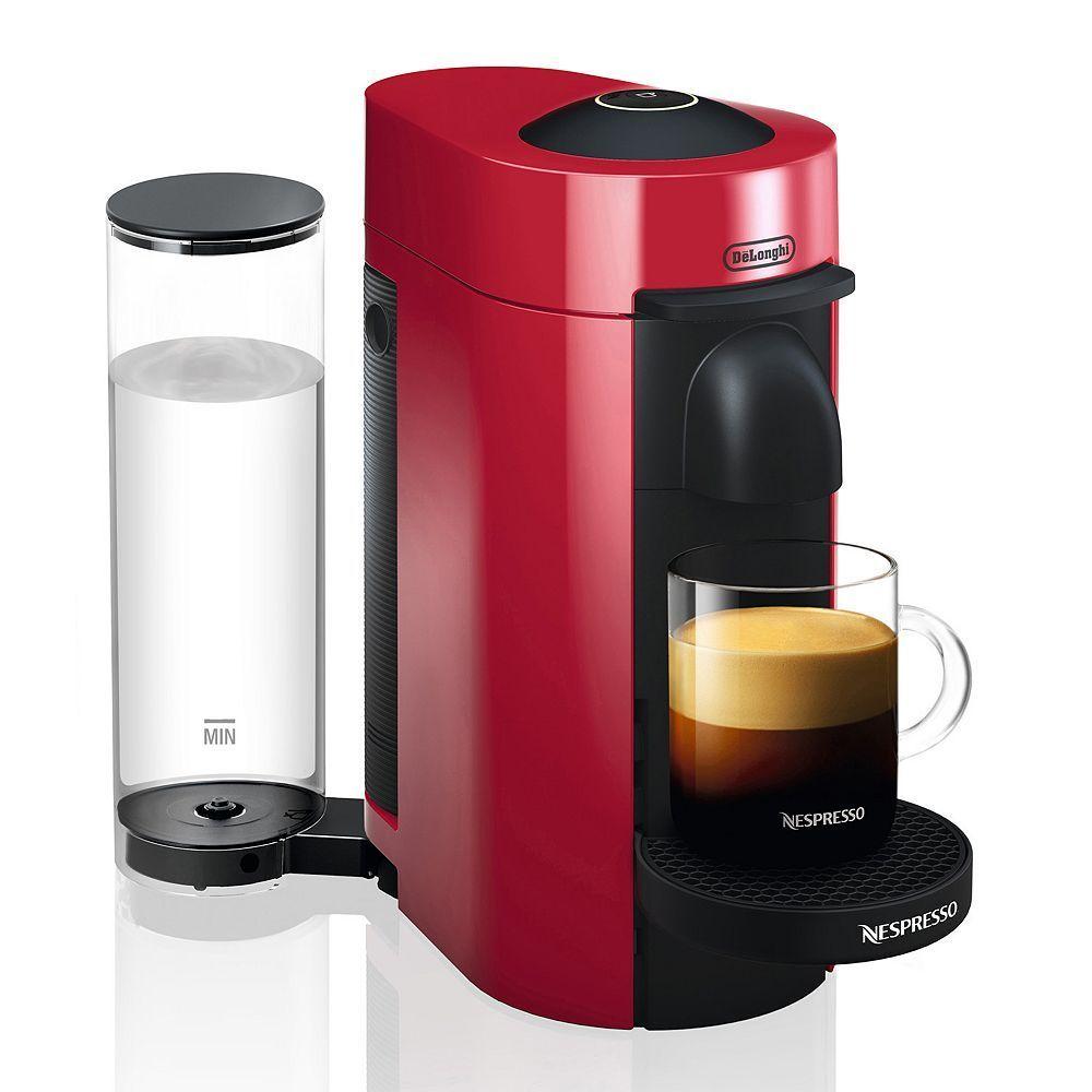 Nespresso KitchenAid Candy Apple Red with Aeroccino 3 Milk