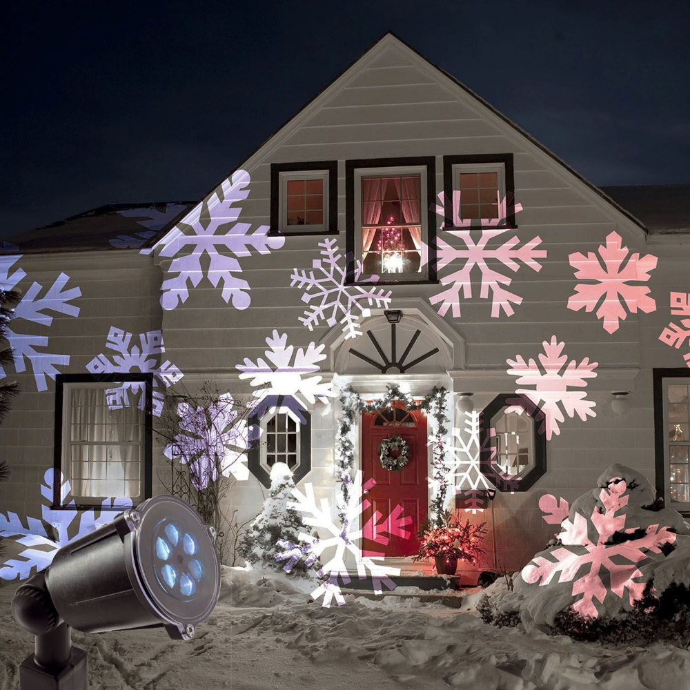 Christmas Outdoor Led Moving Snowflake Laser Light Projector Lamp Party Decor Uk Laser Lights Projector Christmas Fairy Lights Outdoor Christmas
