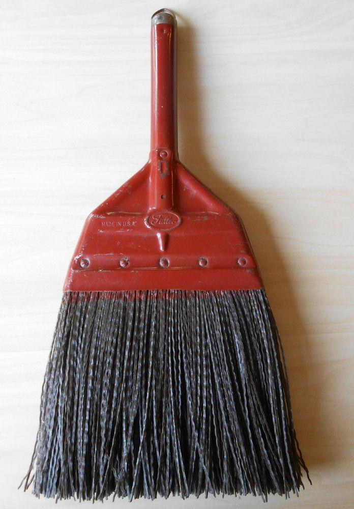 Vtg Industrial Fuller Brush Whisk Wisk Broom Brown