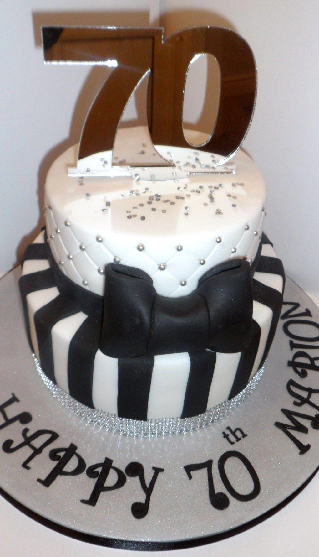 70th Birthday Cake 70th Birthday Cake Cake Cake Creations