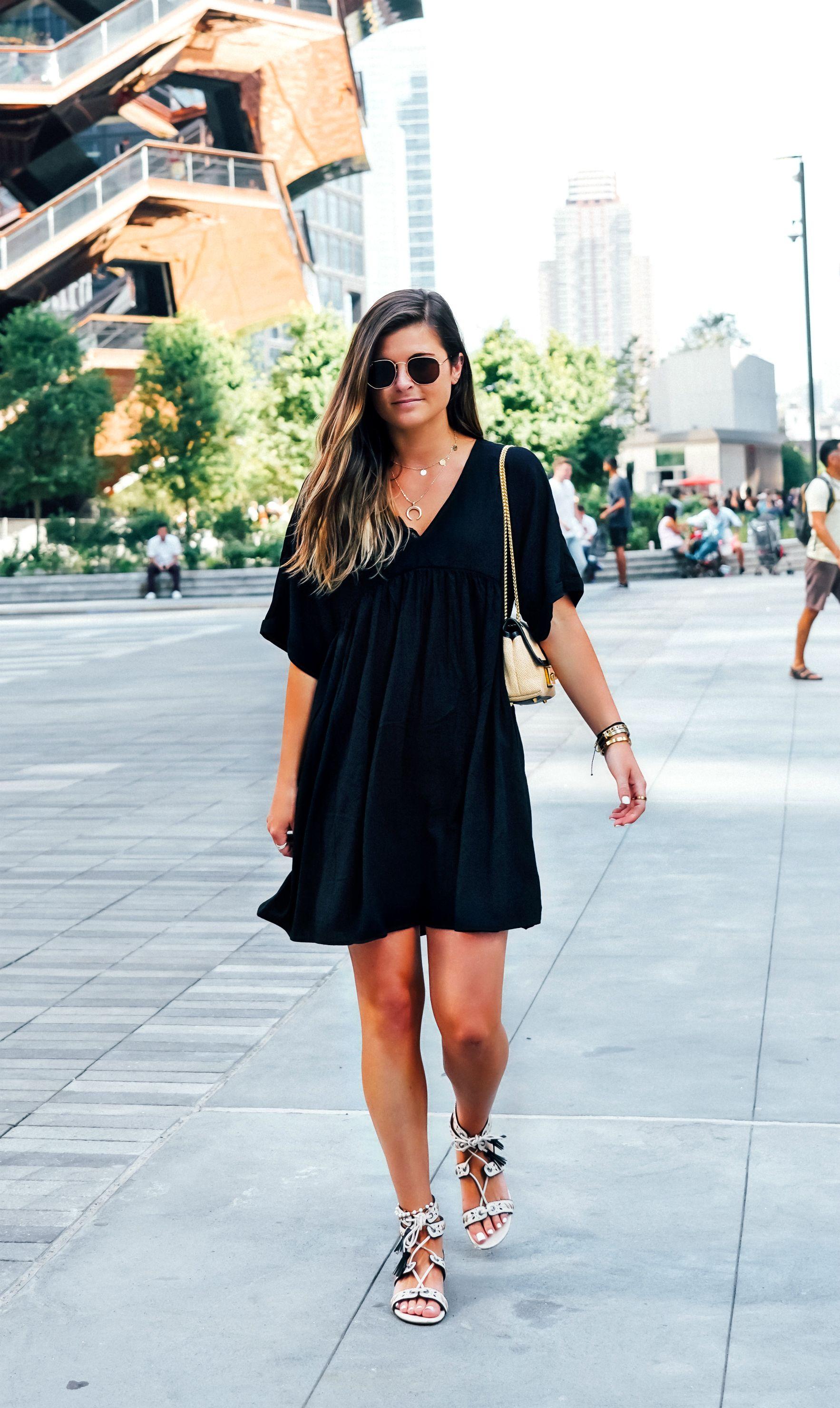 Day dresses, Swing mini dress