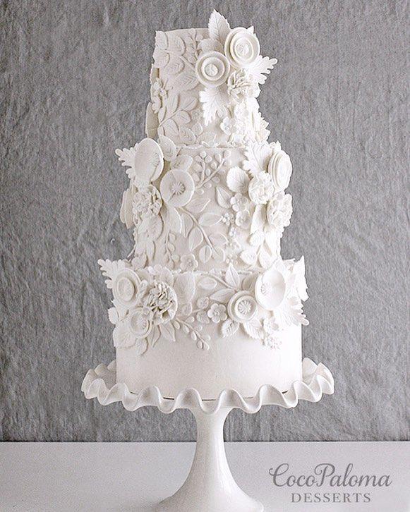 Wedding Cake Inspiration – Coco Paloma Desserts – MODwedding