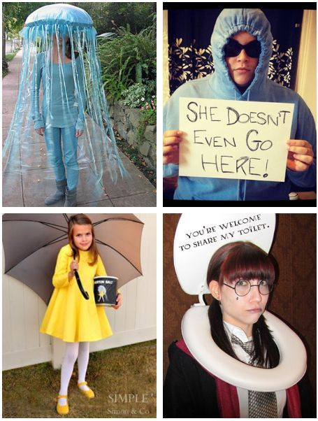 15 Fun Unique DIY Halloween Costumes No One Else Will Think Of  sc 1 st  Pinterest & 15 Fun Unique DIY Halloween Costumes No One Else Will Think Of ...