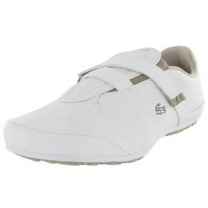 e0ae7c2bb LACOSTE Bedelia Leather Velcro Slip On Womens Shoes (Apparel) http   www