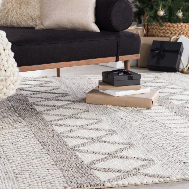 Alysha Southwestern Handmade Flatweave Ivory Gray Area Rug In 2021 Modern Rugs Living Room Modern Rustic Living Room Rugs In Living Room