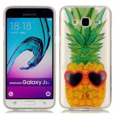 samsung galaxy j3 2016 coque ananas
