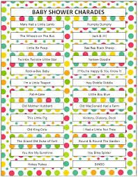 Image Result For Charades Ideas Charades Pinterest Baby Shower
