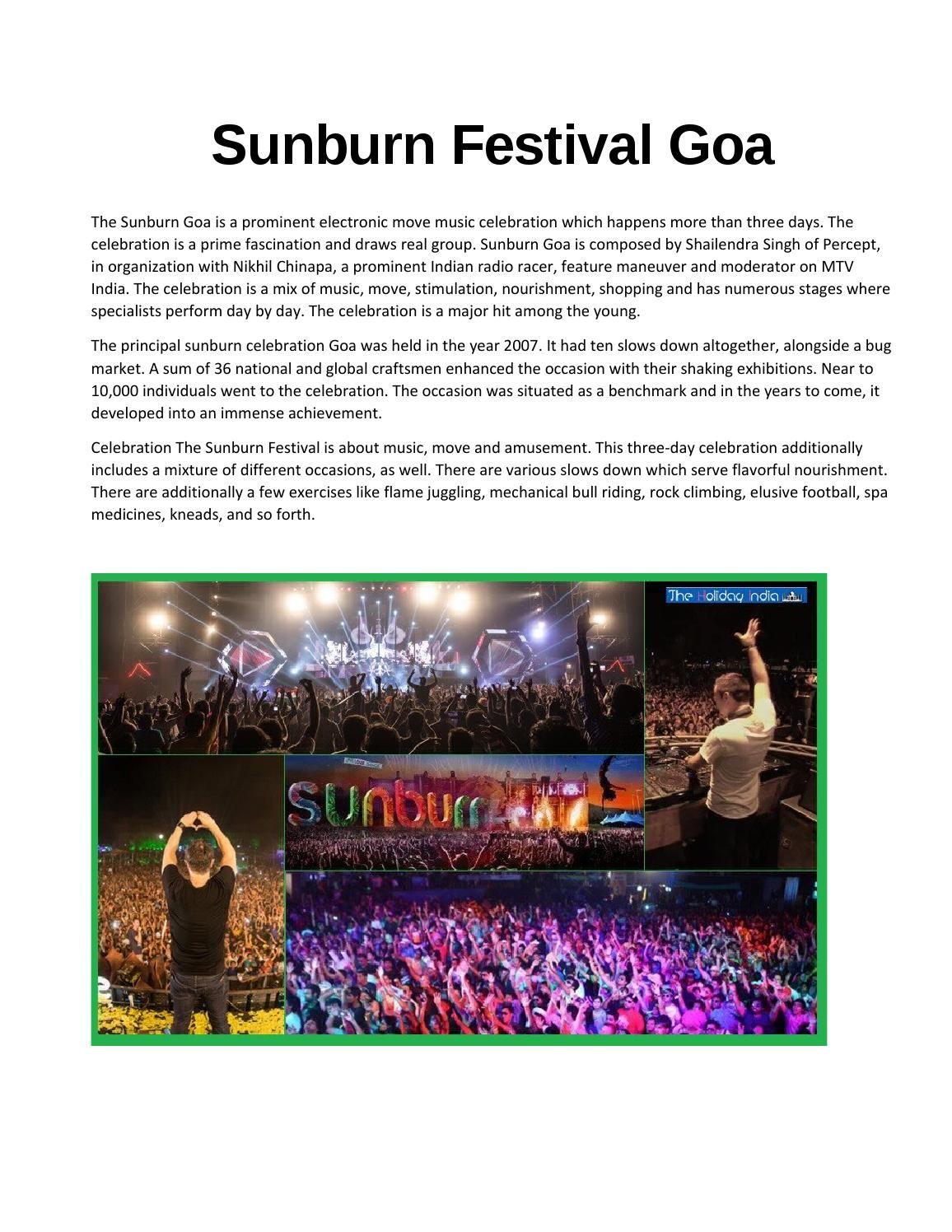 Sound System | Sunburn Festival | Latest Sunburn Pictures | Pinterest