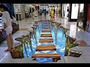 Over 25 Creative Ideas to Decorate Floor 3D - Great Inspiration to Decorate Room or Bathroom Part.2