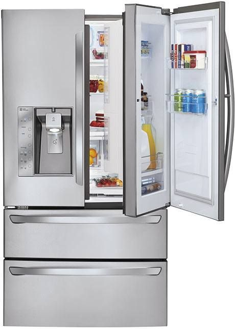 Lg Door In Door Refrigerators Make Organizing Foods Easy French