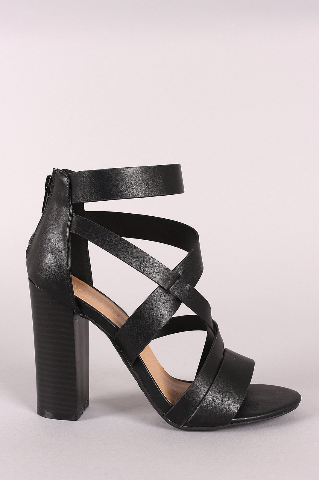96c14206316 These open toe sandals features strappy vegan leather vamp with diagonal  construction