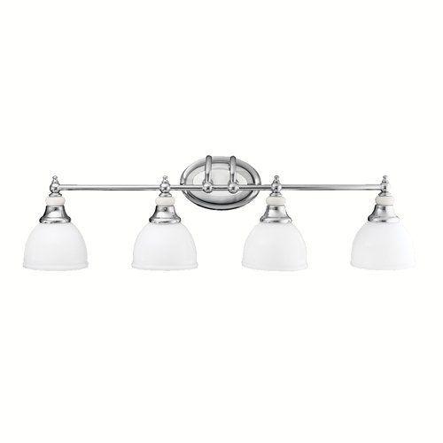 Kichler pocelona 33 wide 4 bulb bathroom lighting fixture chrome kichler pocelona 33 wide 4 bulb bathroom lighting fixture chrome aloadofball Choice Image
