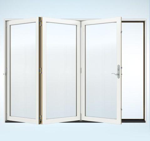 Jeld-Wen Folding Paito Doors - Nana Wall Alternative  Glass wall
