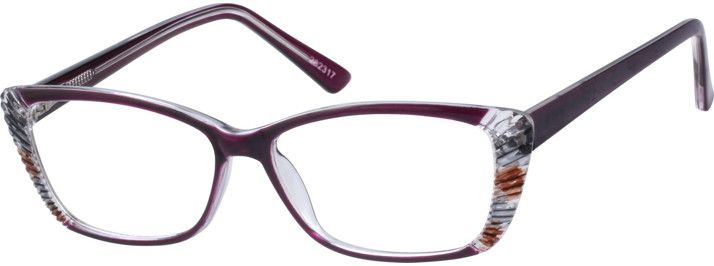 b549834e2d2 Purple Cat-Eye Glasses  282317