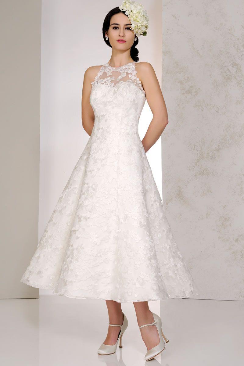 Best short wedding dresses for 2020 tea length wedding