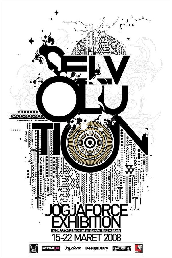 30 Creative And Inspiring Poster Designs Creative Poster Design Exhibition Poster Graphic Design Posters