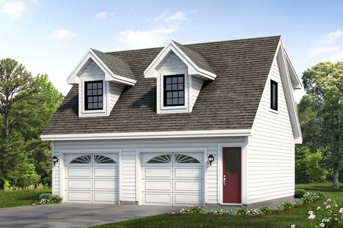 One Bedroom Carrriage House Carriage house plans, Garage