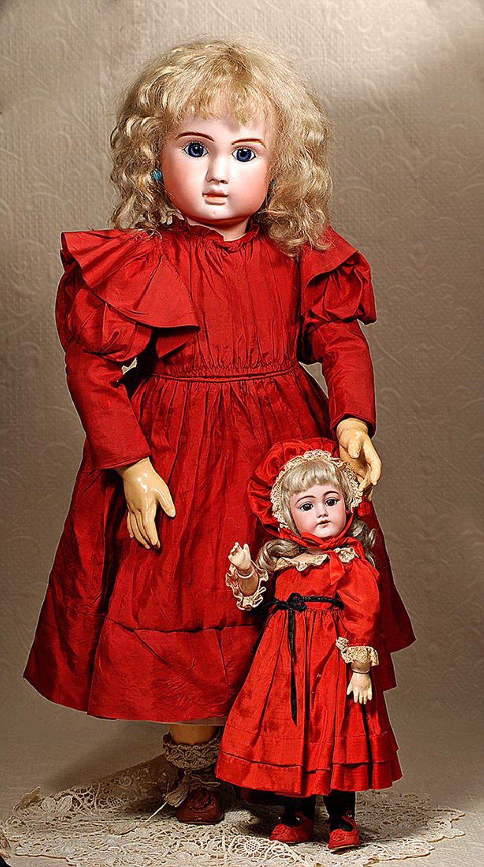 GERMAN BISQUE CHILD DOLL BY HANDWERCK 79 5 Germany