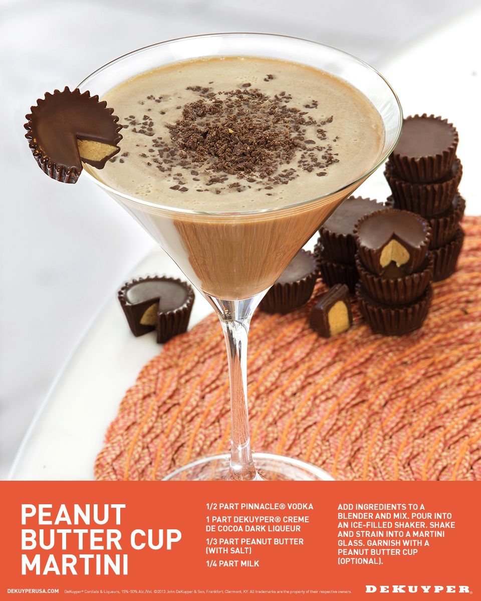 Peanut Butter Cup Martini Drink Recipe