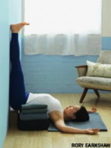 iyengar yoga sequence for anxiety
