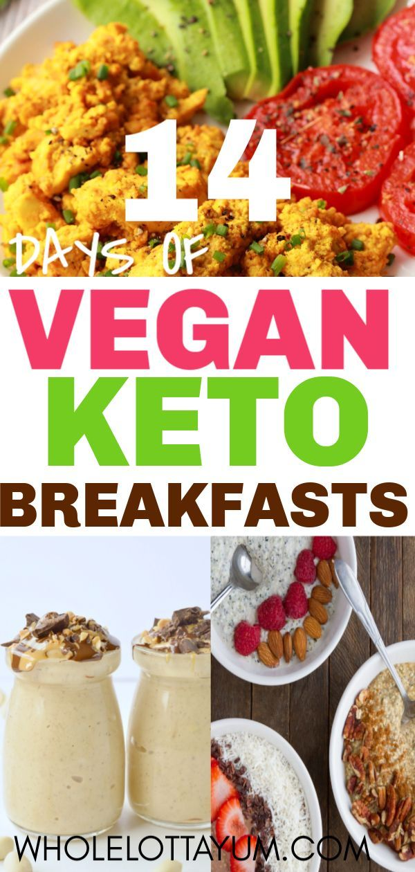 14 Vegan Keto Breakfast Recipes You Need to Try ASAP images