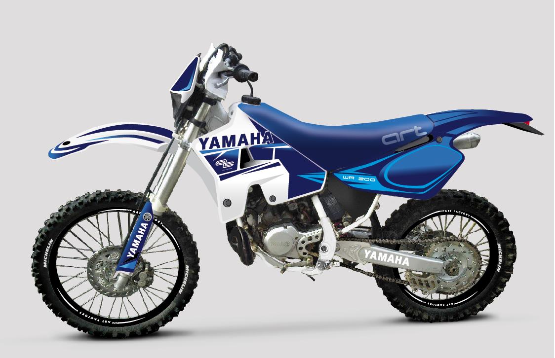 Yamaha WR 200 1993 | Yamaha motorcycles | Yamaha ...
