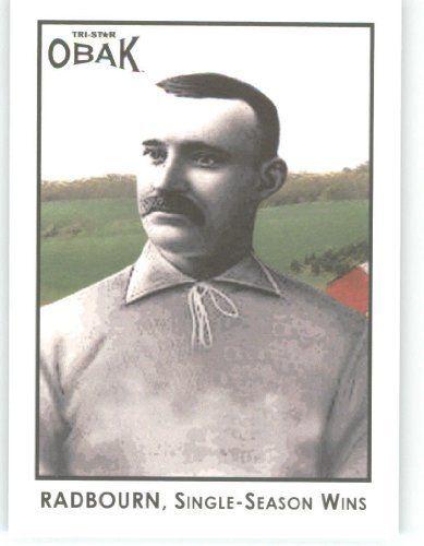 2011 Tristar Obak Major League Best Baseball Card 15 Charles Old