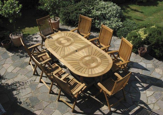 Bridgman Garden Furniture Teak sunburst dining table garden tables garden bridgman explore garden table garden furniture and more workwithnaturefo