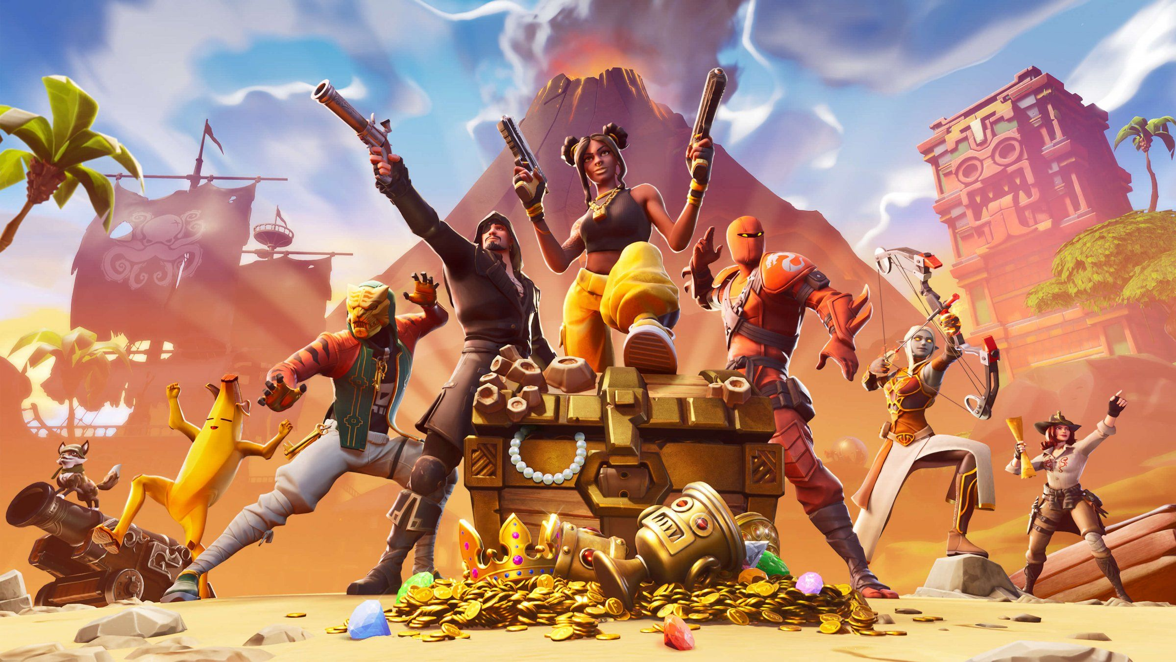 Fortnite Season 8 Launches Today With New Skins New Map