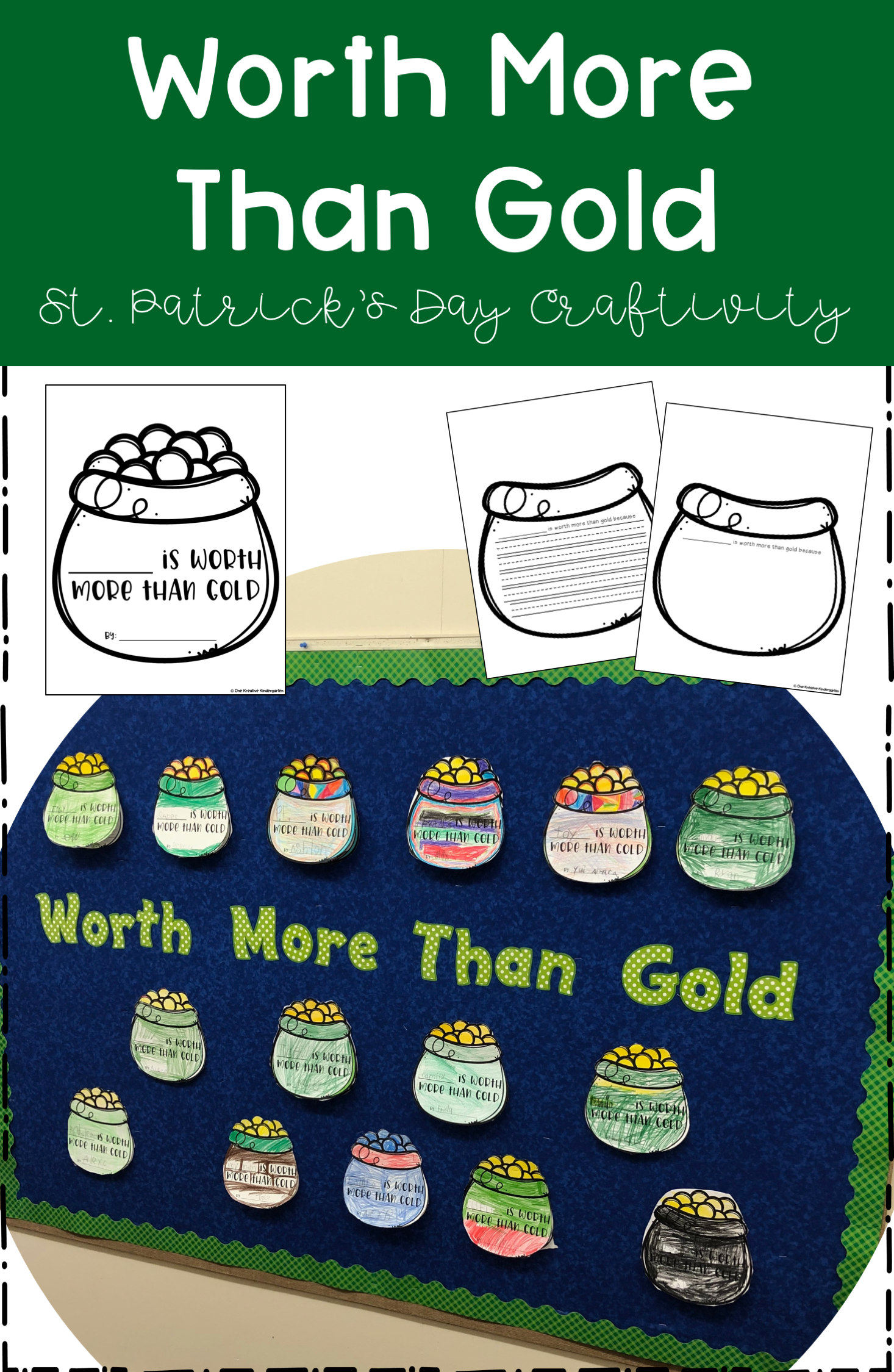 St Patrick S Day Craftivity