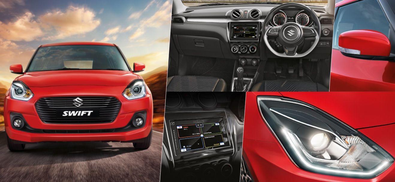 Maruti Suzuki launched its full modal change new swift in
