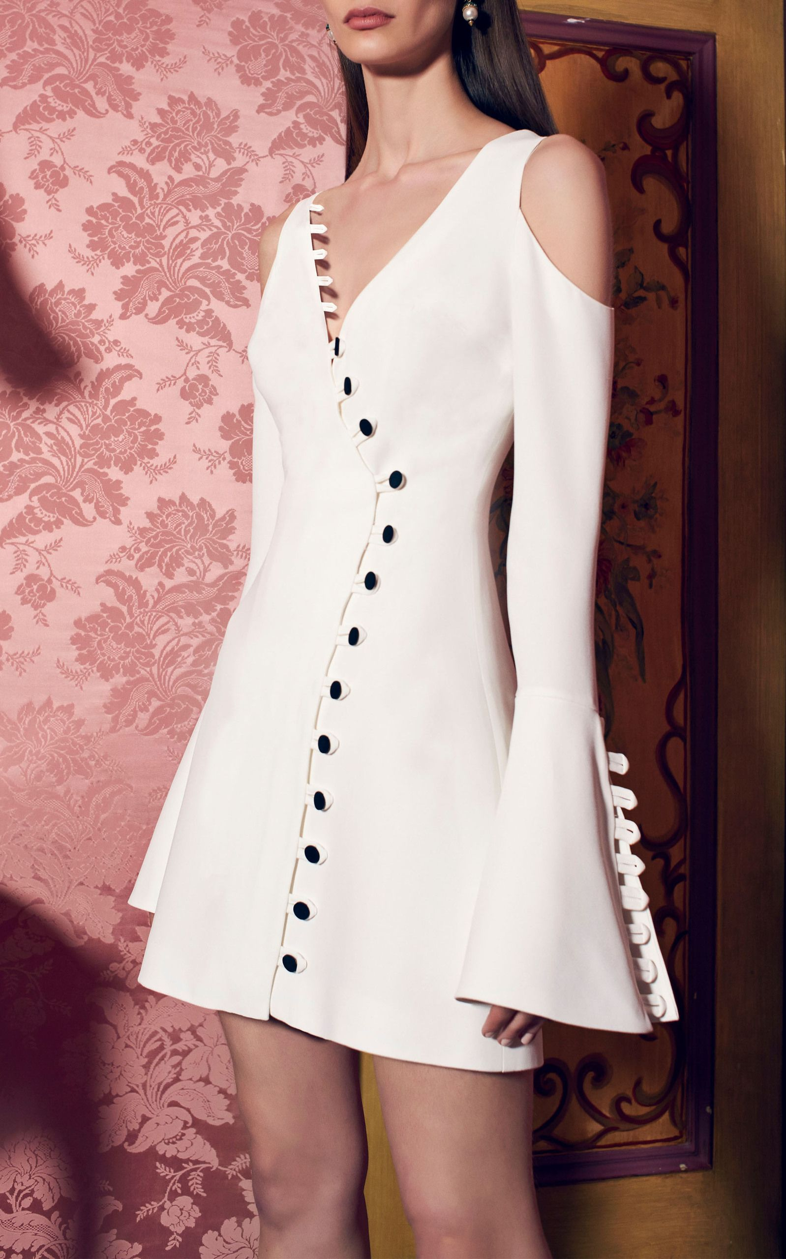 Galen Button Dress By Alexis For Preorder On Moda Operandi Fashion Fashion Dresses Weird Fashion Trending [ 2560 x 1598 Pixel ]