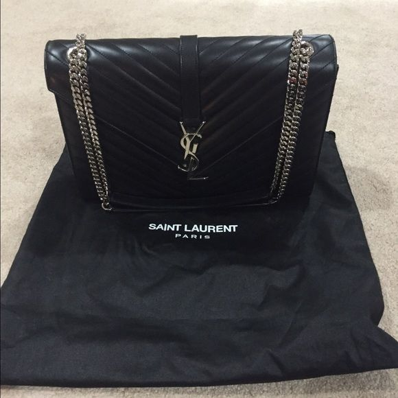 c16b96083d YSL Saint Laurent Monogram Large Matelasse Bag Gorgeous YSL bag only worn a  handful of times