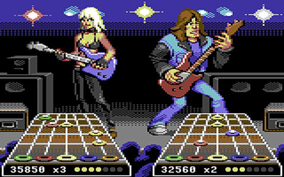 guitar-hero-demake | Game Design Ideas | Modern games, Games