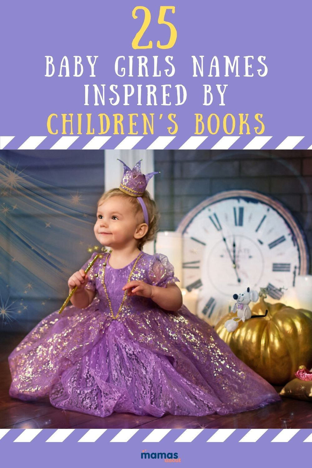 25 Magical Baby Names for Girls Inspired by Children's Books  From Amelia Bedelia to Willa of the Wood, we've chosen our favorite baby names for girls inspired by the most beloved children's stories ever told.  #babynames #girlnames #childrensbooks